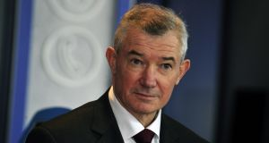 Bank of Ireland's chief executive Richie Boucher: will step step down at the end of this year. Photograph: Aidan Crawley