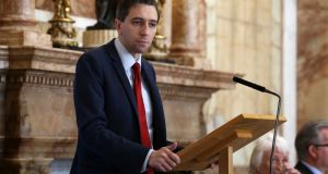 Minister for Health Simon Harris: due to budgetary constraints, many drugs are likely to be frozen out of the Irish market. Photograph: Sam Boal/Rollingnews.ie