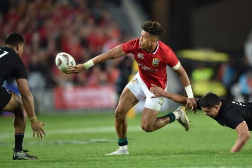 Anthony Watson - Seemed fragile when turned and Barrett's boot was determined to find Julian Savea in the air, but Watson did show enormous bravery and cool footwork to swerve 'The Bus' in a tense late moment. Rating: 6/10