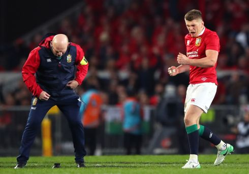 Owen Farrell - A calamitous opening 15 minutes when he kicked out on the full, threw an intercept that led to a 90-metre swing and put a high shot on Beauden Barrett that could have been a yellow card. Recovered magnificently to kick four goals. Rating: 7/10