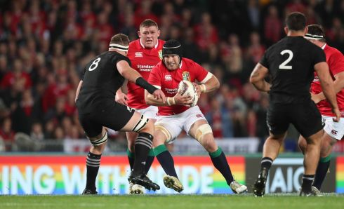 Sean O'Brien - Strong contender to follow Jeremy Davidson (1997) into the history books as Lions MVP. One of the few men capable of matching the All Black forwards on the gainline but Leinster, as usual, will pay the price of what looks a mangled shoulder. Rating: 7/10