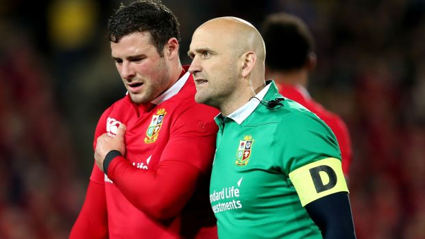 Robbie Henshaw's shoulder injury was one of the low moments of the Lions tour. Photograph: Dan Sheridan/Inpho