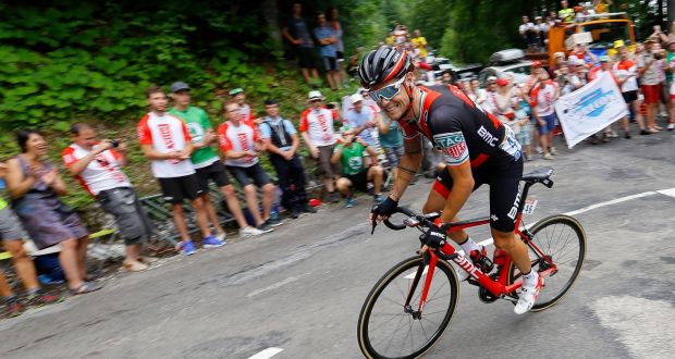 Tour de france nicolas roche nets fourth after aggressive ride bmc racing team rider nicolas roche of ireland in action during the eighth stage of the fandeluxe Ebook collections