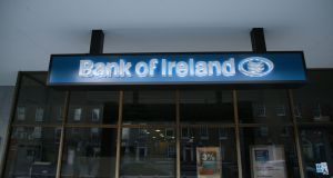 Shares in Bank of Ireland are set to be reclassified on Monday morning amid warnings from Fitch about the high level of non-performing loans still held by Irish banks. Photograph: Nick Bradshaw