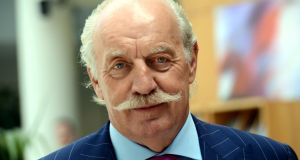 Irish businessman Dermot Desmond is a major shareholder in Rietumu Bank in Latvia, which was fined €80m last week in a French court. Photograph: Cyril Byrne