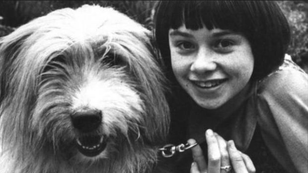 Jacinta Whyte (8) when she was playing Annie in Dublin's Gaiety theatre in 1978