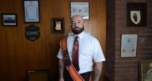 Dublin & Wicklow Orange Lodge: Chris Thackaberry. Photograph: Bryan Meade
