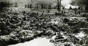 British sappers digging a communication trench to Messines Ridge. Photograph: Popperfoto/Getty Images