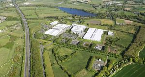 The 195-acre Liffey Park Technology Campus in Kildare, which has been put up for sale by US computer group HP Inc.