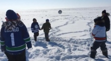 Playing Gaelic Football in the Arctic