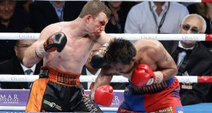 The WBO have upheld the result of Jeff Horn's points win over Manny Pacquiao. Photograph: Tertius Pickard/AP