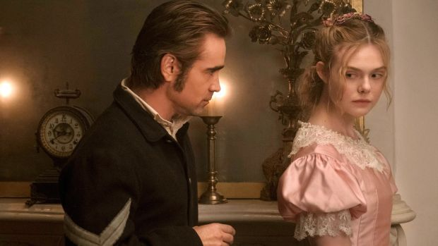 Colin Farrell and Elle Fanning in The Beguiled. Photograph: Ben Rothstein/Focus Features