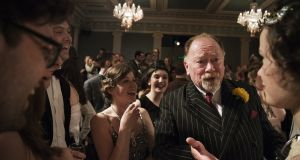 Actor Owen Roe in a party sene from 'The Great Gatsby' at the Gate Theatre, Dublin
