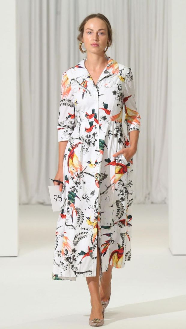 Floral print dress by Erdem