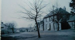 Clonroche, Co Wexford, in the 1940s. Photograph was taken on a box camera
