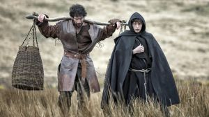 Jon Bernthal and Tom Holland in 'Pilgrimage'