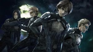 Genocidal Organ: centres on themes of  political skulduggery, military outsourcing and public apathy