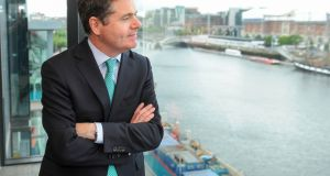 Minister for Finance Paschal Donohoe, who is pondering whether or not to prioritise spending on the M20 motorway linking Cork with Limerick. Photograph: Aidan Crawley/Bloomberg