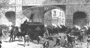 This coming September, it will be 150 years since an ill-fated assault on a prison van in Manchester led to the hangings of Allen, Larkin, and O'Brien This coming September, it will be 150 years since an ill-fated assault on a prison van in Manchester led to the hangings of Allen, Larkin, and O'Brien