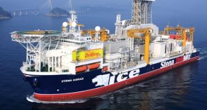 The Stena 'IceMAX' has been contracted by providence at a cost of $185,000 per day to drill the wells.