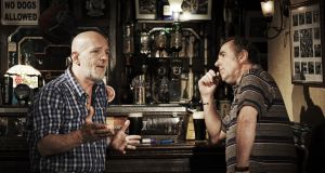 Liam Carney and Lorcan Cranitch in Two Pints