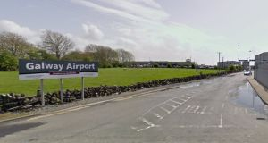 Galway-Roscommon deputy Michael Fitzmaurice has proposed the derelict Galway Airport site be turned into a regional stadium for Connacht. Image: Google Streetview.