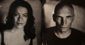 Patrick O'Kane and Camille O'Sullivan in Woyzeck in Winter