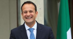 "Taoiseach Leo Varadkar. ""While there have been some cringe-inducing moments, they haven't damaged his standing and if anything probably enhanced his appeal to younger voters."" Photograph: Colin Keegan/Collins"