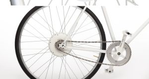 FlyKly's Smart Wheel: you can convert pretty much any bicycle to an electric bike.