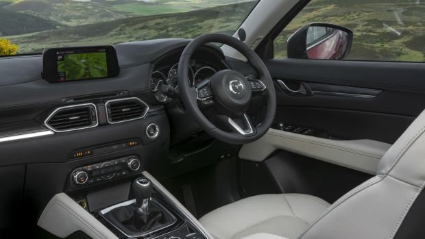 Mazda has used nice materials in the cabin, and it's well equipped but there are some flaws