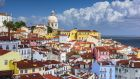 Lisbon skyline at Alfama, one of the older parts of the city. Photograph: iStock Photo