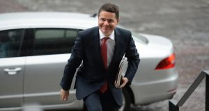 Minister for Finance Paschal Donohoe has little wiggle room in the forthcoming budget. Photograph: Dara Mac Dónaill