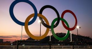 The Olympic Rings in Dublin? Now that's fanciful. Photo: Inpho
