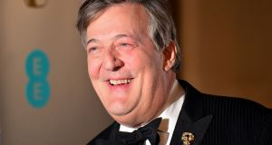 Broadcaster Stephen Fry was at the centre of row over the State's blasphemy laws. Photograph: Dominic Lipinski/PA Wire.