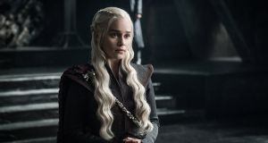 Emilia Clarke in Game of Thrones season seven.  Photograph: HBO