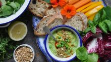 Give peas a chance with this summery whipped dip