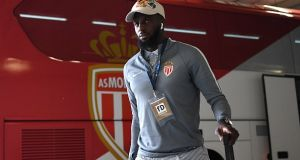 Tiemoue Bakayoko is set to join Chelsea from AS Monaco. Photograph: Getty Images