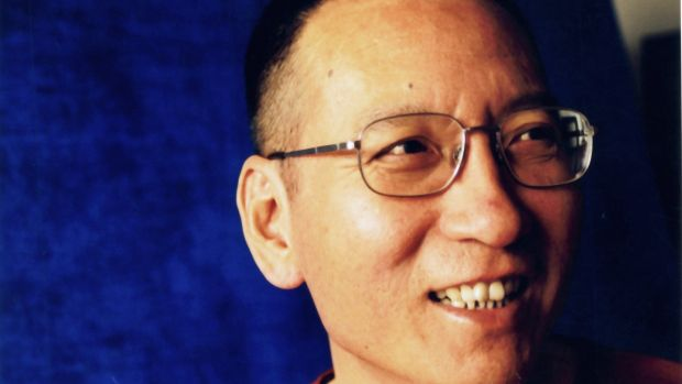 Chinese dissident and civil rights activist Liu Xiaobo in Beijing. Photograph: EPA