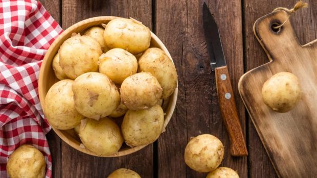 Is a potato a vegetable? Yes, but that doesn't make it one of your five (or is it 10?) a day. Photograph: iStock/Getty