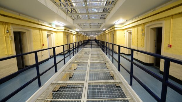 D Wing at Mountjoy Prison in Dublin. File photograph: Bryan O'Brien/The Irish Times