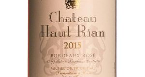 Ch Haut-Rian Bordeaux Rosé, 12.5% (€12.95): A delicious Cabernet Merlot blend at a great price. Light but full of red and white peach fruits with a dry finish. Great summer drinking.