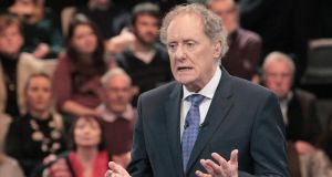 'Vincent Browne on TV3 showed a genuine commitment to diversity.' Photograph: Brian McEvoy