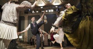 All that jazz: Cast and audience get into the swing of things in The Great Gatsby. Photograph: Agata Stoinska
