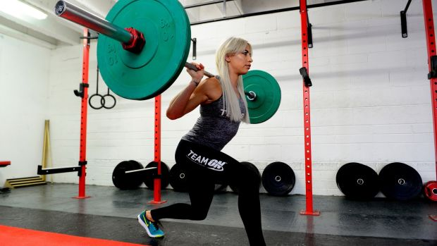 Jenni Murphy said bodybuilding is the best thing she has ever done but it's mentally tough. Photograph: Cyril Byrne/The Irish Times
