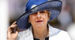 British prime minister Theresa  May is trapped in a powerless premiership, depending on her own MPs and the DUP for survival. Photograph:  EPA/Andy Rain