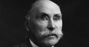 Douglas Hyde the poet, philologist, historian and a founder of the Gaelic League (1860 - 1949). Photograph: Getty Images