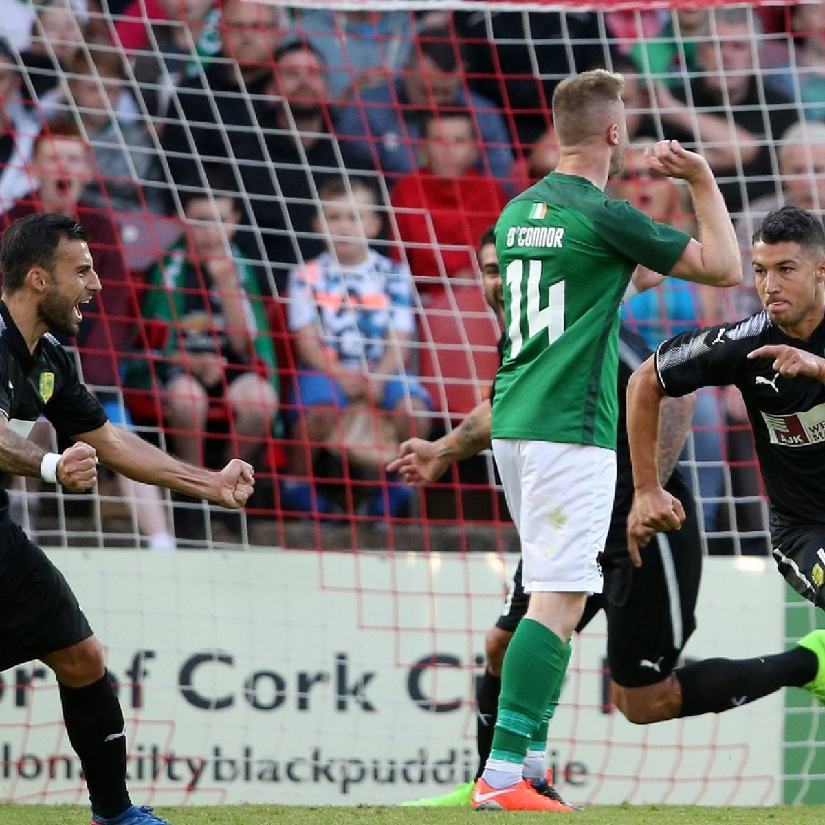 Cork City right behind the eight ball after conceding away goal