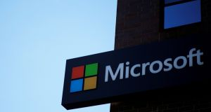 Microsoft is due to publish its financial results on Thursday. Photograph: Brian Snyder/Reuters