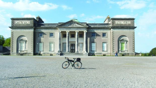 Emo Court, Co Laois. Photograph from Cycling South Leinster: Great Road Routes by Turlough O'Brien