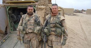 Kim Kristensen (right): the former Danish army colonel led soldiers in Afghanistan and the Balkans before becoming a consultant.